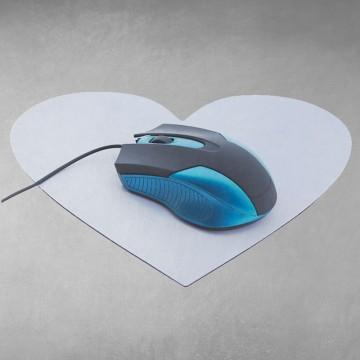 Alfombrilla de Ratón forma de Corazón