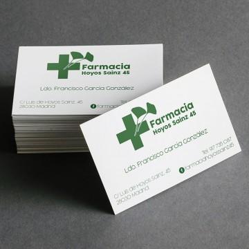 Tarjeta Visita Farmacias