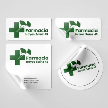 Adhesivos Farmacias Pequeño