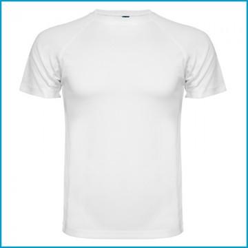 Camiseta Blanca Poliester Sublimación