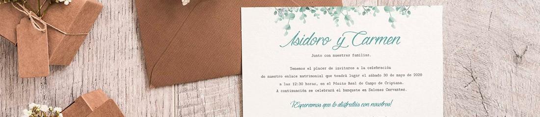 Invitaciones de Boda | PersonalizaTuMundo